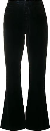 Waisted Maison Flared Margiela Trousers Noir High xx6UqwF