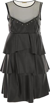 M 2017 Liu Noche Jo Negro Vestido De 40 Mujer Poliester awZq6za0