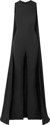 Georgette Effet pantalon Soie Cape En Tom Ford De Noir Combi pSwxUa