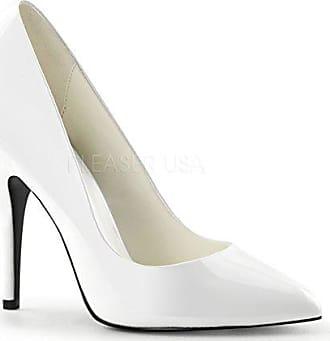 44 Pleaserusa heels Weiß 420 Higher Lack Pumps Gr Seduce 5W8qWxcwg