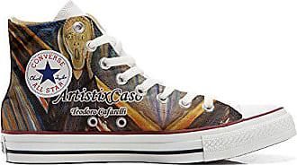 Di Size Eu All Urlo Customized Converse Mys 42 Schuhe Munch Produkt handwerk Star Personalisierte PAzxRxnOq