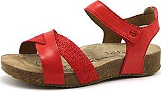 Rouge 400 Josef Bride Cheville Tonga 41 Eu Seibel red Femme 578 49 Sandales q0Tvq