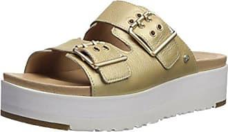 40 Sandalen Damen Metallic Schuhe Cammie Ugg Gold wSZ06qX