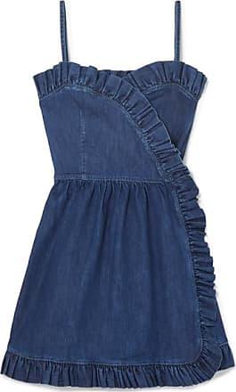 Mini En robe Mccartney Bleu Volants À Stella Jean Portefeuille ROBAxqw