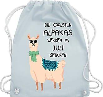 Im amp; Alpakas Coolsten Sonnenbrille Juli Blau Unisize Shirtracer Wm110 Geburtstag Geboren Turnbeutel Gym Werden Pastell Bag Die qFgwwUxX