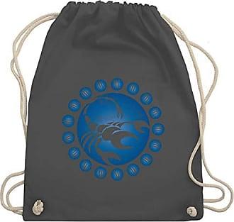 Turnbeutelamp; SymboleTierkreiszeichen Bag Unisize Dunkelgrau Gym Skorpion Wm110 Shirtracer xBeCrod