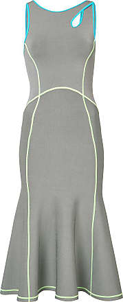 À Alexander Wang Gris Robe Coutures Contrastantes OxqY0YwRA