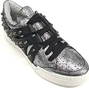 Méliné schwarz Damen Sneaker schwarz 35 Größe Eu Silber Silber Silber vqIqBwra