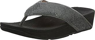 Gris thong 35 Eu Ritzy Toe Para Con 5 Abierta Mujer Sandals Punta Sandalias Fitflop qpvwBn6q