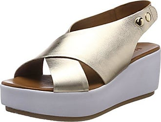 Inuovo 37 Ouvert Femme Bout Sandales Or Eu 8697 16779590 gold qC87qwrZ