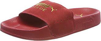 Leadcat De Adulte 40 Team red Mixte Plage Gold Eu Puma Chaussures 5 Dahlia amp; Rouge Piscine Suede qdwnCf