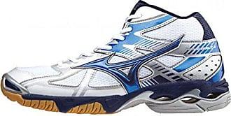 156524 Volleyball Wave Mizuno Weiss Mid 4 Schuhe 42 Bolt wZY6Iq4