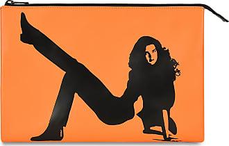 Klein Medium Calvin Orange Pouch Icon sQBxthdCr