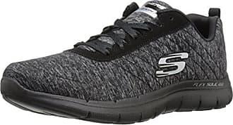 Flex Femmes bkcc Noir gris Skechers 2 39 Basses Eu Appeal Baskets aTXXqW4F