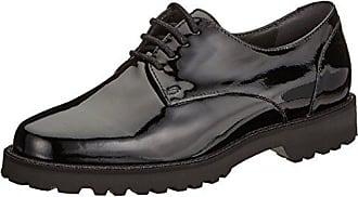 000 Sioux Para Vedika Cordones Eu Mujer Zapatos Derby De schwarz Negro 40 zw6zTnrq