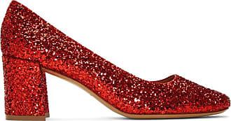 Chaussures Mansur Hauts Scintillantes Talons A Rouges Gavriel nxFnqwHURa