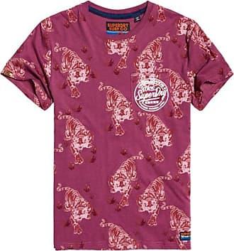 T Und Tasche Print Ticket Type shirt Superdry Mit Durchgehendem Leichtes 1lFJcTK