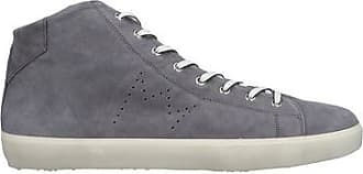 Crown Sneakers Leather Leather Abotinadas Calzado Crown fwWwEOqUn
