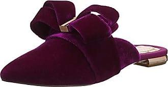 Abierta Con Zapatos Chry Para De Eu Baker cherry Rosa Ted Qamini 37 Tacón Punta Mujer 1qRAW0SF