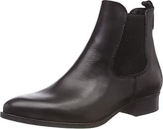 3 Chelsea Tamaris Leather 21 black Eu Boots 25388 Schwarz Damen 38 qtn8gw6pt