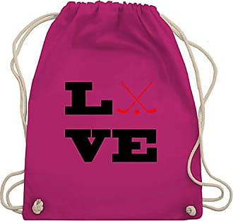 Shirtracer Bag Unisize Fuchsia Wm110 amp; Eishockey Gym Turnbeutel Love aaqw8HPz