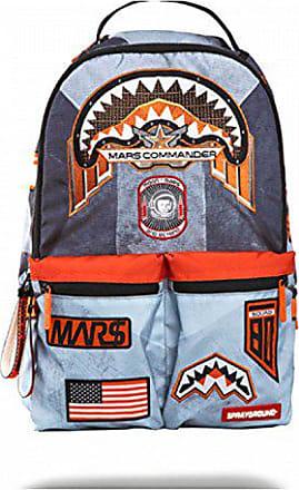 Buzz Sprayground Backpack Double Aldrin Charcoal Cargo Black Mars gCCqa