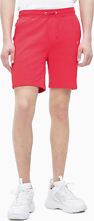 Calvin Klein Rot shorts Jogging Baumwoll frottee Aus rBedCxo