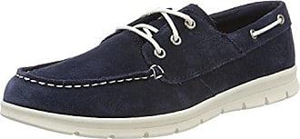 Timberland Leather 5 sapphire 41 Mocassins D61 Eu Homme loafers Bleu Suede Graydon r4Oawr