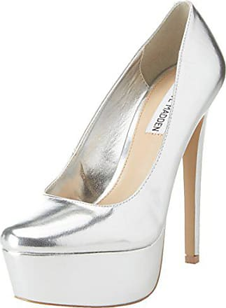 Punta Steve Para Mujer Deserve Eu 5 De 38 Zapatos Tacón Madden Plateado Con Silver Cerrada ppqwY4C