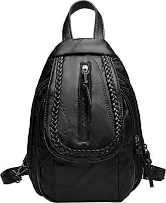 Brusttasche Adefg Damen black Rucksack Einfache Lässig Umhängetasche onesize qwFwXOZ