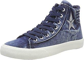 Bleu Hautes Baskets Femme Eu 36 Edna Replay navy qxawCpI7