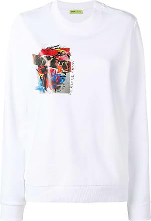 Jeans Sweat Versace Couture Imprimé Blanc Ygxw0xp