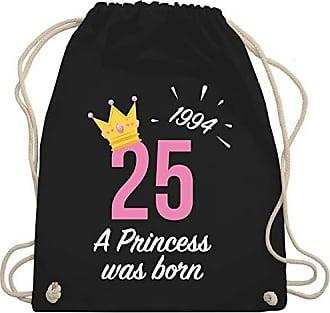 Shirtracer Unisize Schwarz Mädchen Wm110 Geburtstag25 Bag Princess 1994 Turnbeutelamp; Gym nP80wNkXZO
