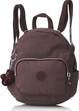 5x17 Mini campfire Cm Smoke Rucksack Damen Backpack Braun Kipling 19x21 FP58vqnwx