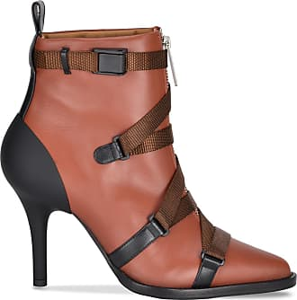 Chloé Leather Ankle Chloé Strappy Strappy Boot BxqqYPw0C