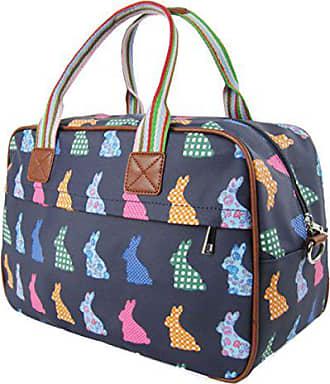 Kukubird handle dark Blue Rabbit Overnight Top Cute Shoulder Tote Bag Design Handbag Crossbody 00U6rxw