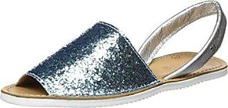 Sandales 39 Abarca Bout Turquoise Ouvert turqoise Glitter 16 Femme Eu Cuplé 4EqBz4