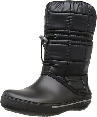 Noir Crocs Ii black Femme Eu 35 34 Boot Crocband Winter Bottes 5 smoke arOfnwqHFa
