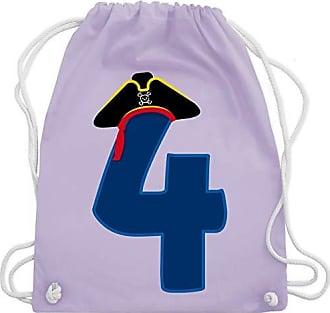 Piratenhut Kind Bag Lila Shirtracer Turnbeutel Wm110 amp; Pastell Geburtstag 4 Unisize Gym RBqqw5Ux4n