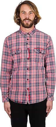 Flannel Shirt Faded Imperial Ls Red Motion Greenwich xwvxqE7