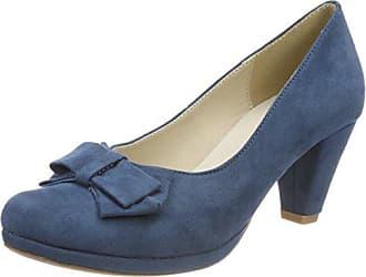 36 Cerrada De 1005718 Con Tacón 274 jeans Andrea Punta Conti Mujer Para Azul Eu Zapatos t0HnHOq