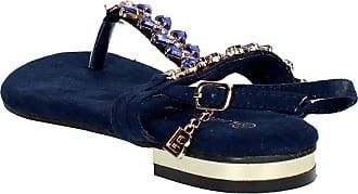 Tongs Bleu Biagiotti Femme 350 Laura 7F4Wq0IEWw