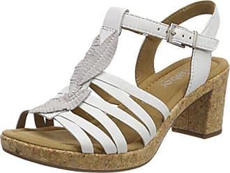 Blanc Gabor Bride Sport Eu Cheville Femme Sandales Comfort Kork weiss 42 BO1qBx6g