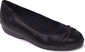 Ee 30mm Kostenloser Footcare Uk Pumps FionaExtra Absatz Leder Größe Nach Breite Gratis Schuhanzieher Padders Damen Rückversand AjLq543R