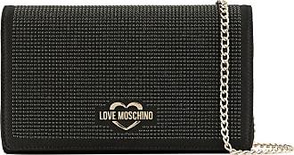 Love à Moschino Pochette Design StrasséNoir On8wXNP0k