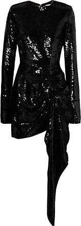 Mini Sequins Crêpe Noir robe À En Drapé 16arlington Et xXdqBpTX