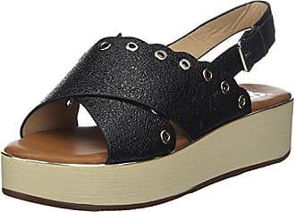 Sandales 40 côte d'azur NACERA Noir Plateforme Femmes Cassis w8t4qf