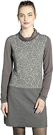 Large grey Gris Fabricante Krivan 11 Mujer l Smash tamaño Vestido Del Para 7awSfx