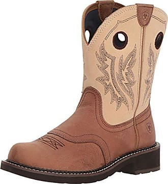 Heritage Cowgirl Western Us Ariat Fatbaby Womens BootTan B sand8 TF315ulJcK