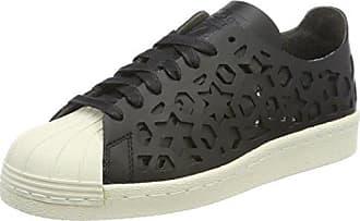 80s Eu Black Adidas Cut Sneaker off Damen Out Core Superstar Schwarz White36 htsCBQrdxo
